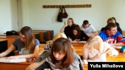 Elevi ai liceului Gheorghe Asachi