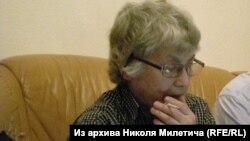 Натальля Гарбанеўская, красавік 2013.