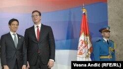 """Ji """"za oktavu jače"""" naglasio Vučiću da """"Srbija ne može sedeti na dve stolice"""""""