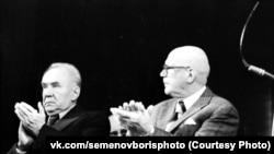 Председатель Совета министров СССР Алексей Косыгин и президент Финляндии Урхо Кекконен в Карелии