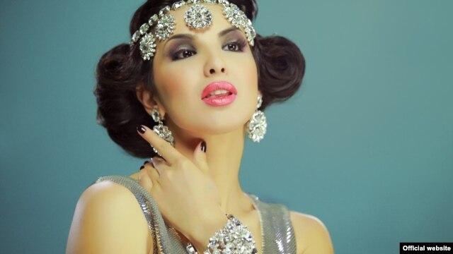 Узбекская эстрадная певица Тамила.