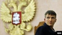 Надія Савченко у Москві, 26 жовтня 2016 року