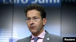 Presidenti i eurogrupit Jeroen Dijsselbloem