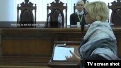 Олександра Кужель у суді