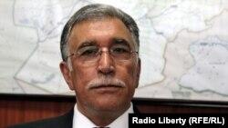نجیب الله اوژند وزیر فواید عامه افغانستان