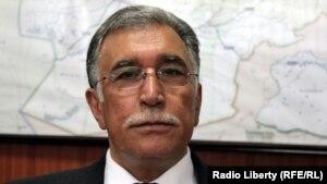 نجیب الله اوژن سابق وزیر فواید عامهء افغانستان