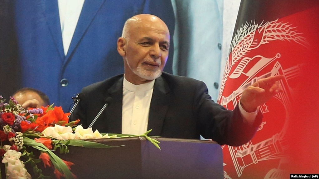 Afghanistan's Fate 'Can't Be Decided Outside,' President Says