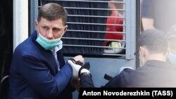 Избрание меры пресечения Сергею Фургалу в Москве
