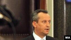 Претседателот на македонскиот парламент Трајко Вељаноски
