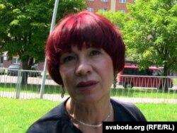 Людміла Мірзаянава. 2011 год. У часе суду над сынам Фёдарам Мірзаянавым.
