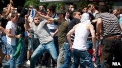 Протестите во Скопје против пресудата во случајот Монструм