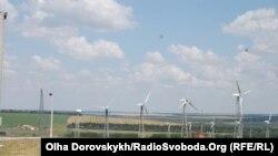 Найбільший в Україні вітропарк «Новоазовський»