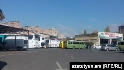 Армения - Центр обслуживания автобусов компании «Кинг Делюкс» в Ереване, 3 ноября 2015 г.