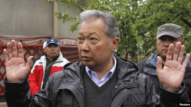 Former Kyrgyz President Kurmanbek Bakiev has been living in exile since 2010.