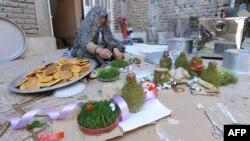 Pripreme za obilježavanje Norouza u Afganistanu, 2012.