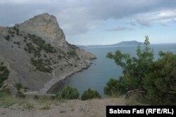 Munții și Marea între Sudak și Fedosia