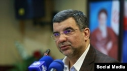 Iraj Harirchi, Deputy Minister of Health of Iran. FILE PHOTO