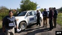 Спостерігачі ОБСЄ, жовтень 2016 року