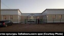 Отремонтированный дом культуры в Усть-Ималке