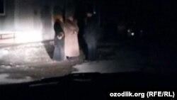 В знак протеста против отсутствия газа и электричества в основном на улицу вышли женщины.