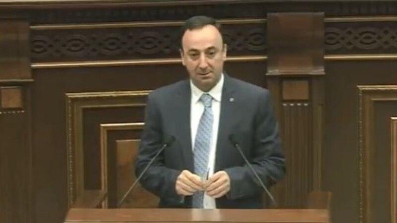 Հրայր Թովմասյանն ընտրվեց Սահմանադրական դատարանի նախագահ