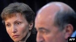 Марина Литвиненко и Борис Березовский объявляют об открытии Фонда справедливости имени Александра Литвиненко