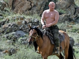 Russians are accustomed to thinking of Putin as an abnormally fit man with a penchant for derring-do.