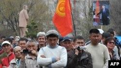Один из митингов оппозиции. 10 апреля 2014 года.