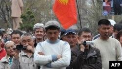 Оппозиция өткөргөн митинг. 10-апрель, 2014-жыл.