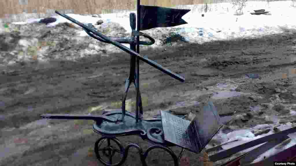 Популяр тимерче Алмаз Фатыйхов-Казаковның иҗат җимешләре