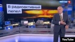 Российский журналист Дмитрий Киселев, ведущий итоговой воскресной программы на государственном телеканале.