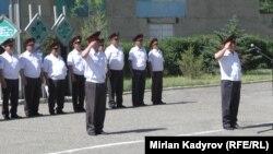 Қирғиз милиционерлари.