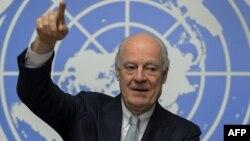 БҰҰ-ның Сирия мәселесі жөніндегі өкілі Стаффан де Мистура.