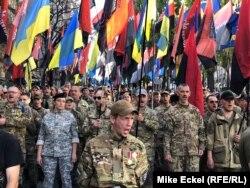 """Марш """"Нет капитуляции!"""" в Киеве. 14 октября 2019 года"""