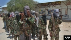 Al-shabab, dega e Al-Kaidës, duke ecur në Denille, zonë e kryeqytetit, Mogadishu