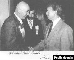 Петр Григоренко и президент США Джимми Картер