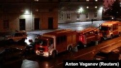Hitne službe na mjestu eksplozije u Sankt Peterburgu