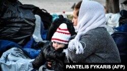 სირიელი მიგრანტები, საბერძნეთი, 2016 წელი