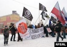 пикет в защиту Олега Козловского