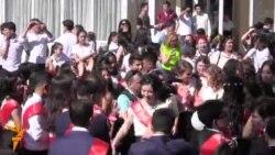 OZOD-VIDEO: Ўзбекистонда 476 минг битирувчи мактаб билан хайрлашди