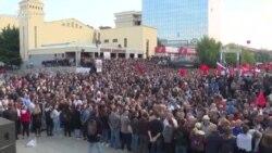 Mijëra qytetarë protestojnë kundër ndryshimit të kufijve