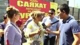 Продавцы против закрытия рынка на бывшем автовокзале «Саяхат»