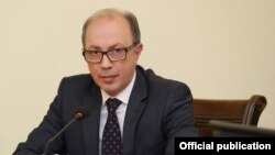Ara Ayvazian has stepped down as Armenia's foreign minister.