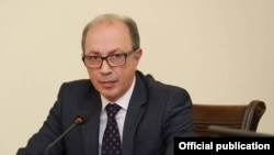 Armenia - Foreign Minister Ara Ayvazian, March 29, 2021