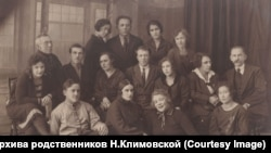 Сотрудники Иркутского радиоузла. 1928 год