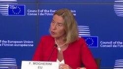 Федеріка Моґеріні прогнозує продовження секторальних санкцій ЄС щодо Росії (відео)
