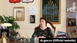 Міністр культури російського уряду Криму Аріна Новосельська