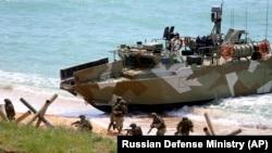 Trupe militare în peninsula Crimeea, 22 aprilie, 2021