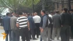 Daş hasar Qobustan qəsəbəsini iki yerə bölüb