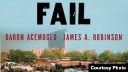 "Обложка книги Тарона Аджемоглу и Джеймса Робинсона ""Why Nations Fail"""